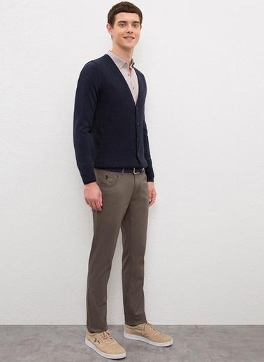 U.S. Polo Assn. U.S. Polo Assn. Düz Vizon Erkek Pantolon Vizon